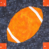 Football Quilt Square for kelleaj