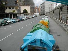 Irun小鎮街景