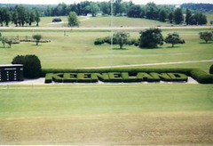 Keeneland, Lexington Kentucky.