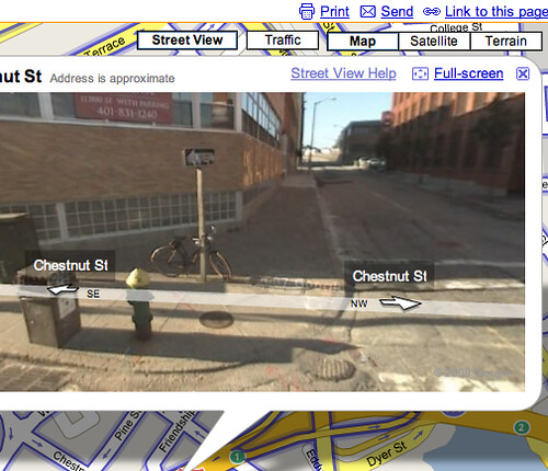 hey, my bike is on google maps!