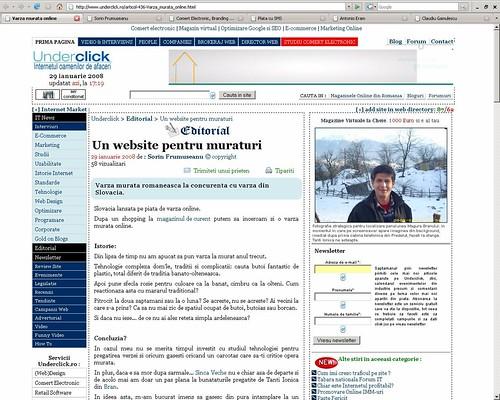 articol website underclick