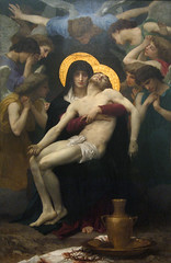 Pieta, 1876 (Maulleigh) Tags: art museum painting san francisco fine arts honor legion bouguereau honour pieta 1876 williamadolphe