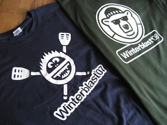 Winterblast 2007 & 2008 T-Shirt Designs
