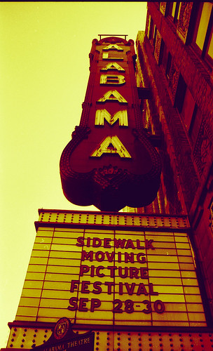 Alabama Theater during Sidewalk Film Festival