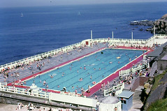 Tynemouth - outdoor swimming pool forty years ago