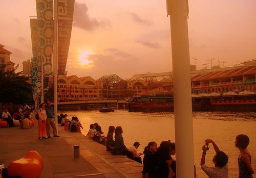 Stunning Singapore River - Clark Quay
