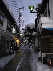 Village - street 05 (drayy) Tags: street snow ski japan skiing village onsen hotspring nagano  snowcovered   nozawaonsen