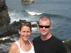 L & J at Ohe'o Gulch
