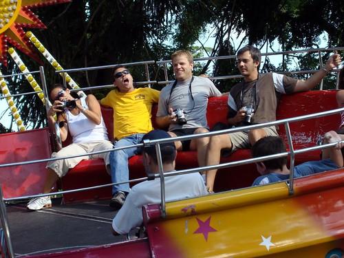 Vanesa, Pablo, Lucho y Adolfo en el Mambo