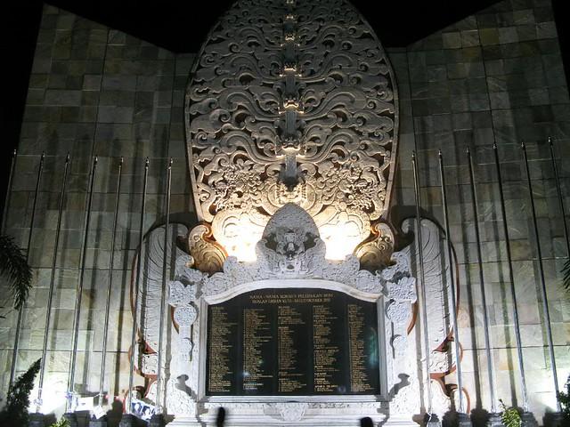 Bali bomb monument