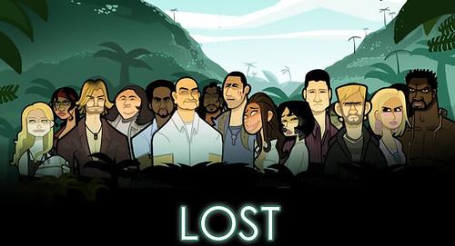 Caricatura de Perdidos