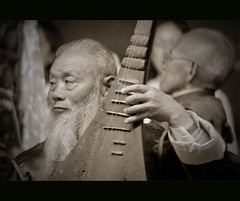 Naxi Ancient Music (Robert Lio) Tags: china music shangrila yunnan lijiang naxi ancientmusic