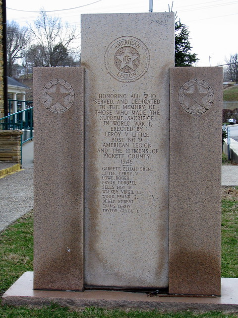 Pickett County War Memorial