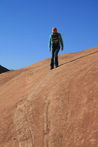 Jenn on Sandstone