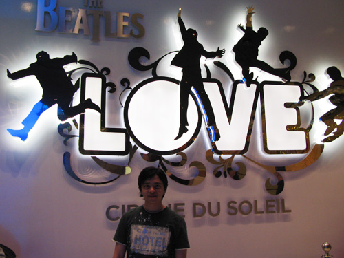 LOVE logo, with me