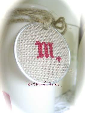 Lecheritas con inicial letra M