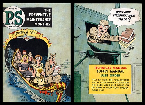 Preventive Maintenance Monthly Issue 45, 1956 (Will Eisner)