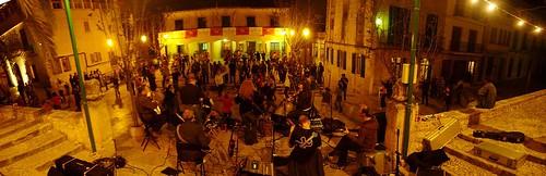 Festa a Sa Plaça - Panoramica