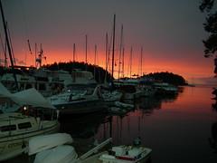 gabriola sunset 2 (Mark Faviell Photos) Tags: sunset boats islands bc gulf fave gabriola