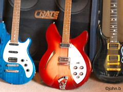 good trio (johnb/Derbys/UK.) Tags: memories guitars rickenbacker nteresting