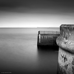 4.7m (Gary Newman) Tags: uk longexposure sea england bw plymouth devon nd110 d700