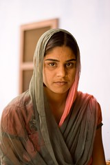 The shy daughter in law (niyatee) Tags: india rural women village haryana