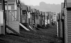 Tankerton (only lines) Tags: uk coast kent beachhuts whitstable tankerton