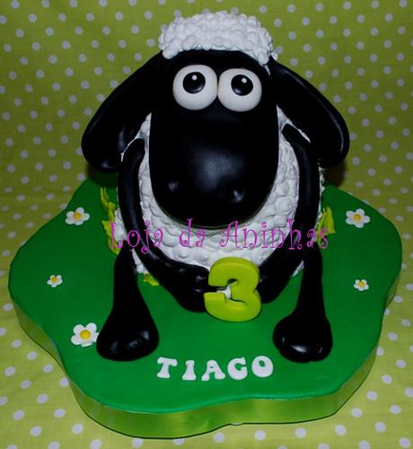 Shaun the Sheep Cake by Aninhas_lisboa