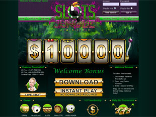 Slots Jungle Casino Home