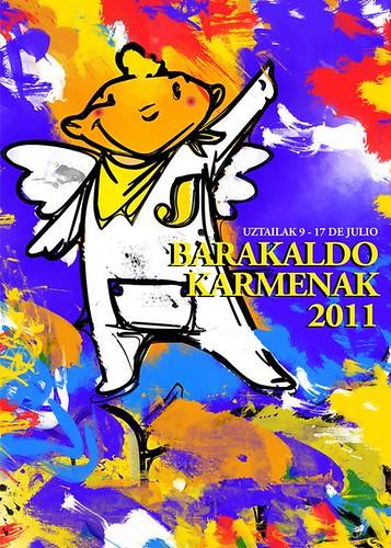 Cartel 5. Concurso Carteles de Fiestas de Barakaldo 2011