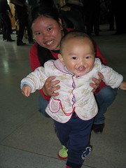 happy baby with cleft (ReSurge International) Tags: china baby cute children best health pre surgical ngo cleft w07 interplast spring2006 ganzhoucity gss08