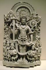 NYC - Metropolitan Museum of Art - Stela of a Four-Armed Vishnu