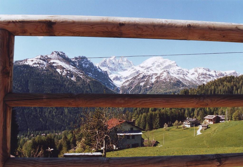 Panorama della Val Biois