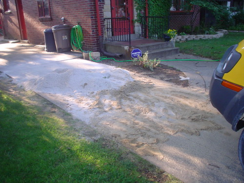 Sand & Stone gone from drive