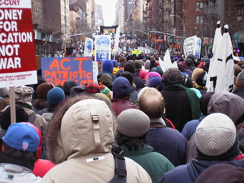 anti war activists  stop