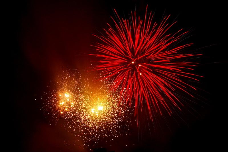 Nice pretty fireworks