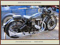 classics british motor cycles rudge