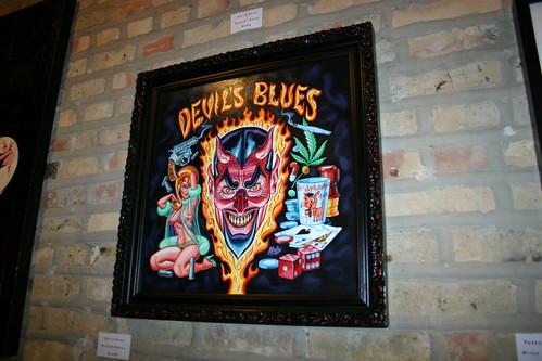 Halloween art show @Revolution Tattoo, Chicago