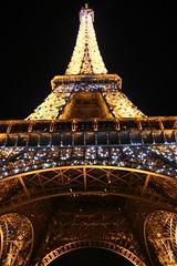 Eiffel Tower at night...