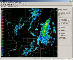 11pm Update (Adam Chernow) Tags: wisconsin madison radar winterstorm