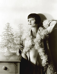 louise brooks, mini tree (carbonated) Tags: christmas xmas ladies vintage celebrities holidaypinup