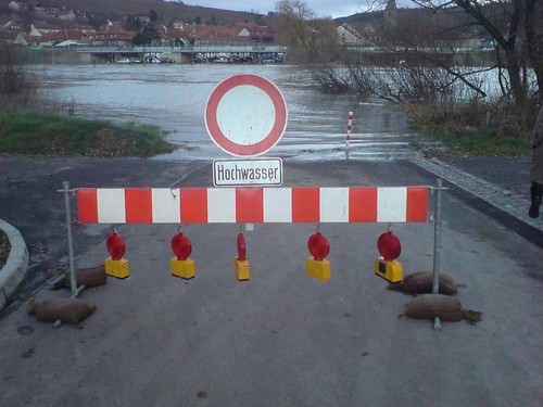 hochwasser, würzburg heidingsfeld
