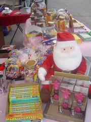 DSC08366 (Malonda) Tags: santa fleamarket candyjar nowandlater vintagecandy candybags funkyfleamarketindc