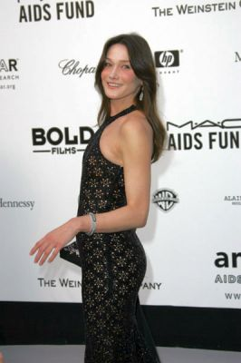 Carla Bruni at amfAR's Cinema Against AIDS event, presented by Bold Films, the MAC AIDS Fund and The Weinstein Company to benefit amfAR