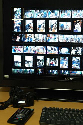 USBダイレクト入力によるデジカメ画像表示
