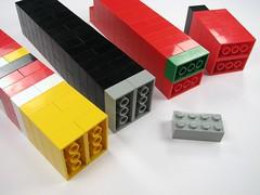 2x4 stacks