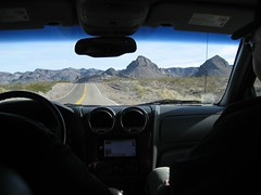The scenic drive to Oatman, AZ. (12/23/07)