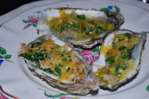 gegratineerde oesters 013