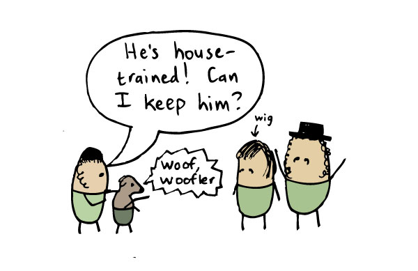 he's-house-trained