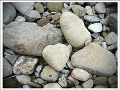 One In A Million (Nanjacoder) Tags: nature canon rocks heart australia riverbed qld heartshaped goldcoast theperfectphotographer
